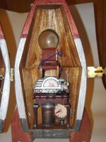 Steampunk Rocket Playset -Interior Right by weakcut