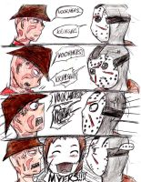 Freddy, Jason, and Michael? by Akatsuki907
