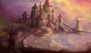 Kingdom of the Eastern Sea by Illustrum