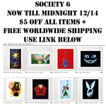 Society 6 Sales Week by ArtbyMaryC