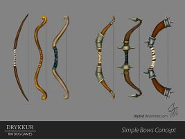 Simple Bows Concept by slipled