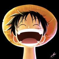 LEAGUE OF SELFIES: LUFFY by CharlyChive