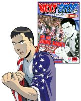 World Cup Manga Cover by dirktiede