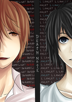 Death Note by Azuyasai