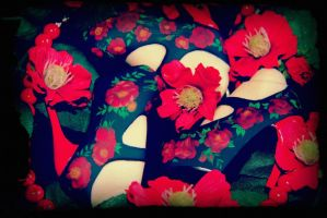 Floral Shoes for Marla by Shepesh