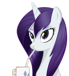 Rarity - I Like Her Mane by AB-Anarchy