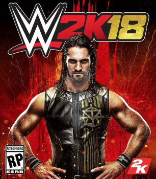 WWE 2K18 Official Cover by SidCena555