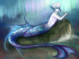 -Silvertongue- (Merman!Jack) by KT-ExReplica