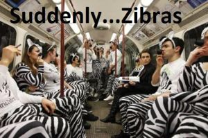 Suddenly...Zebras by The--Mad--Russian