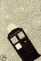 Police Box in Space by JulLoy