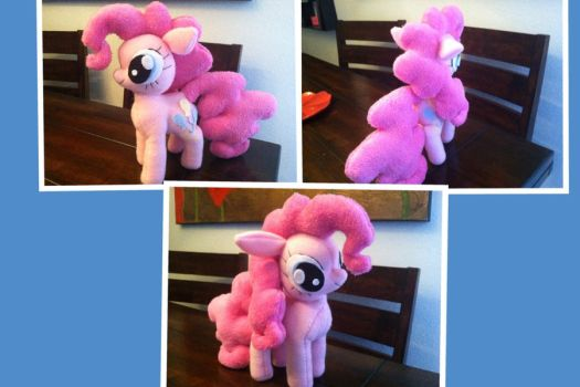 Pinkie Pie Plushie by PetrucciosPlushies