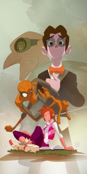 Spider-man, Spider-man... by cheeks-74