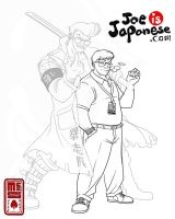 Joe is Japanese - Koga by Inkthinker