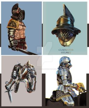 Armours by leosartorelli