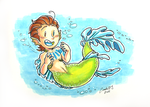 Merman Rhys by ZombiDJ