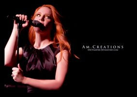 Simone Simons. Live Norway 18 by AmCreationss