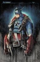Captain America Super Saucy by RobDuenas