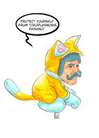 CAT suit MARIO by jackcrowder