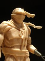 Ninja Turtle Sculpt - view 3 by shilini