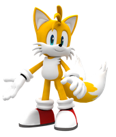 First Tails render by Pho3nixSFM