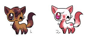 Adoptables 10  points 10 points by gigifeh