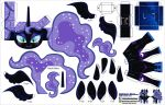 Nightmare Moon unarmored version (Joinys 013B) by ELJOEYDESIGNS