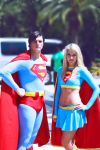 Superman and Supergirl by StevenKauk