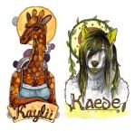 Anthrocon Badges by CannedTalent