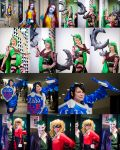 Genericon 2015: Saturday Hall Cosplay shots 2 by Henrickson
