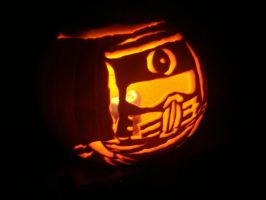 Repo Man Pumpkin by hermiejr157