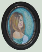 Princess in frame by Enih