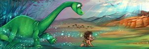 The Good Dinosaur by sharkie19