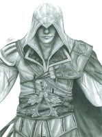 Ezio drawing by StephenFisher