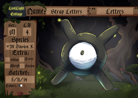 PKMNation: Stray Letters by garbagekeeper