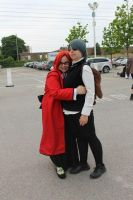 Grell and Ciel by L-luvs-cake