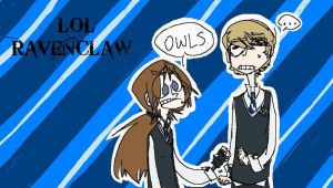 LOLRAVENCLAW by tricksterwolf13