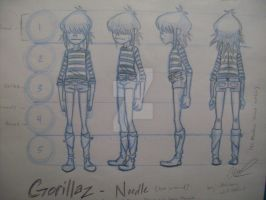 Noodle Model Sheet_Rotation by pistol-paintbrush493