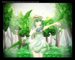 GUMI- Light in the forest by NatsuCookies