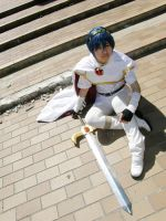 COS: Marth - white ver. by SnakeyHoHo