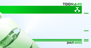 Toonami Green Wallpaper Template by JPReckless2444