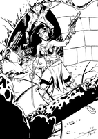 Dejah Thoris by Joe-Singleton
