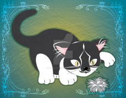 Commission: Elly the Kitty by HylianJess