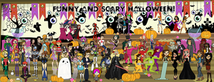 Funny and Scary Halloween! by EllisSummer