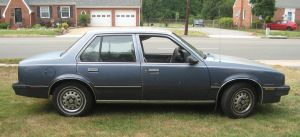 1984 Chevy Cavalier passenger side view by Reyphotos