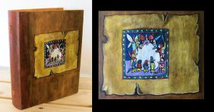 Box book - Medieval + detail by oshuna