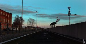 Train Station 3 by wellgraphic
