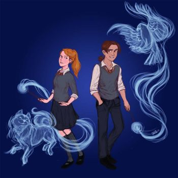 Request : Jim And Raphaelle by IzziBelle