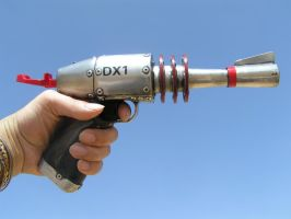 THE ATOMIC DX1 RAY GUN by faustus70