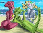Beach Invaders by Grrriva
