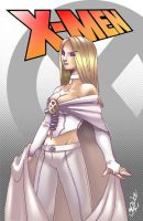 Emma Frost on April by bernce